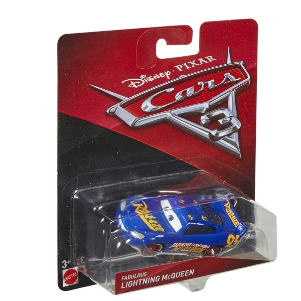 Voiture Cars 3 : Fabulous Flash McQueen - Mattel-DXV29-FGD57