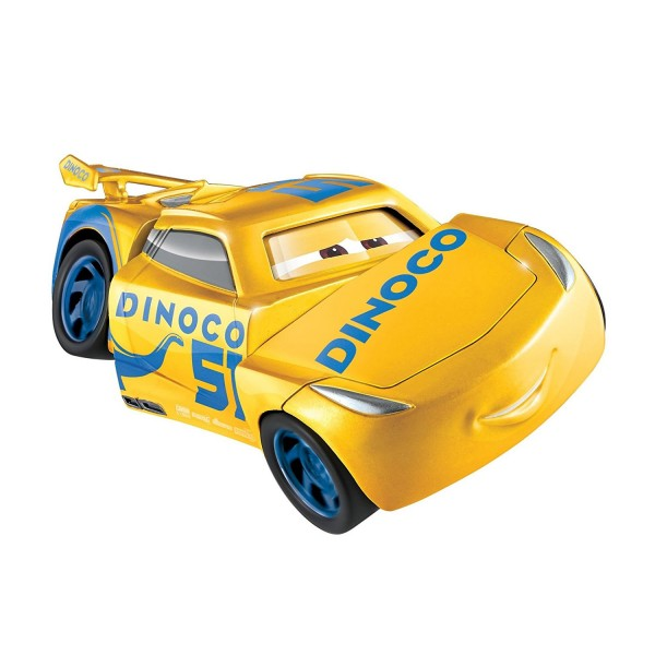 voiture cars 3 super crash dinoco cruz ramirez jeux et jouets mattel avenue des jeux. Black Bedroom Furniture Sets. Home Design Ideas