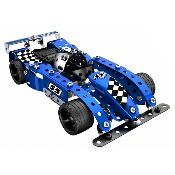 Meccano Turbo : Voiture Evolution bleue - Meccano-886353
