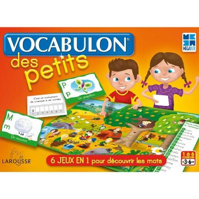 Vocabulon des Petits - Jeux et jouets Megableu - Avenue des Jeux