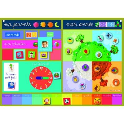 calendrier magn tique jeux et jouets nathan avenue des jeux. Black Bedroom Furniture Sets. Home Design Ideas