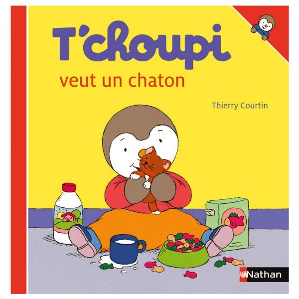 Livre T Choupi Veut Un Chaton
