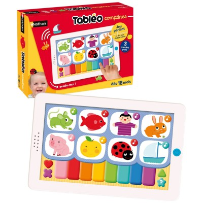 tablette interactive tableo comptines jeux et jouets. Black Bedroom Furniture Sets. Home Design Ideas