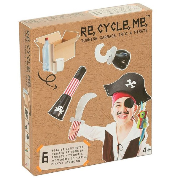 Kit créatif ReCycleMe : Pirate - Neotilus-RE16PI367