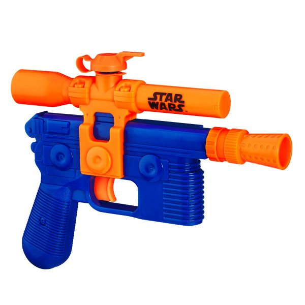 pistolet eau nerf supersoaker star wars blaster de han solo jeux et jouets nerf avenue. Black Bedroom Furniture Sets. Home Design Ideas