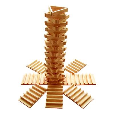 Jeu de construction en bois empiplak jeux et jouets oko a avenue des jeux for Construction en bois var