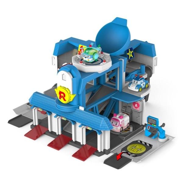 Quartier g n ral robocar poli fonctions jeux et jouets - Le club robocar poli ...