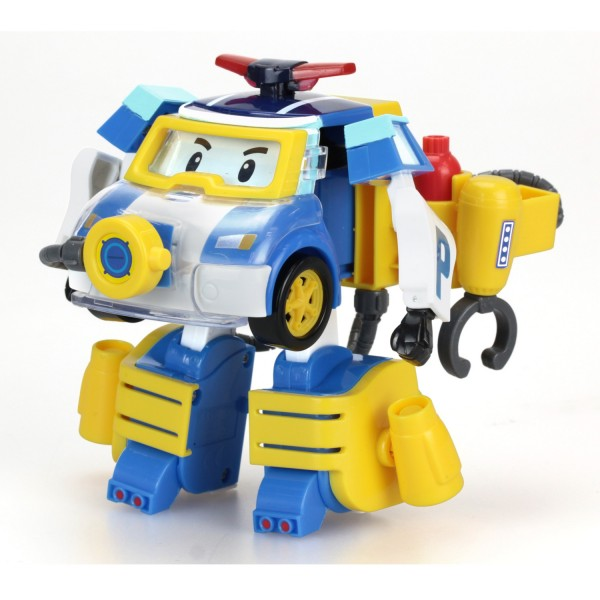 V hicule transformable robocar poli poli plongeur jeux - Robocar poli pompier ...