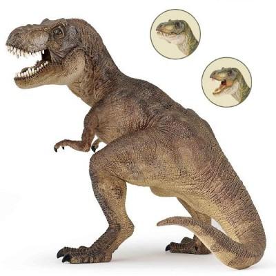 Figurine dinosaure tyrannosaure brun jeux et jouets papo avenue des jeux - Film de dinosaure jurassic park ...