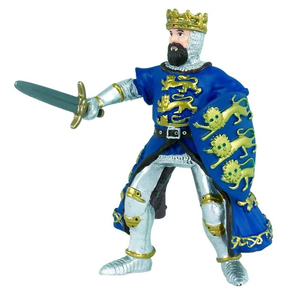 Figurine Richard Coeur de Lion bleu - Papo-39329