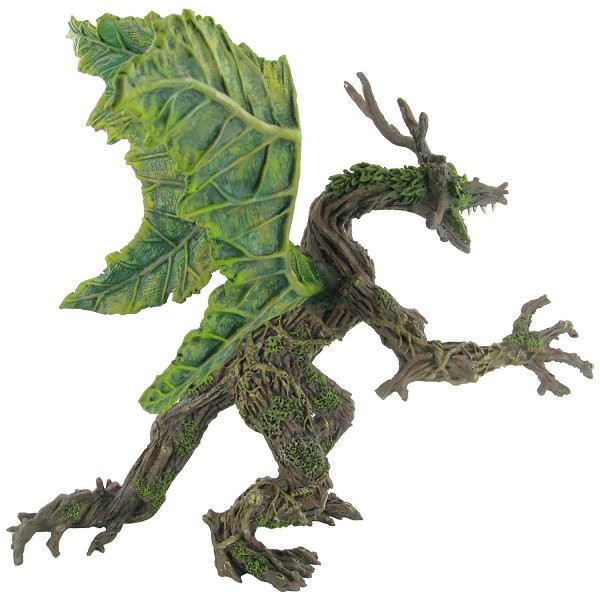 Figurine Dragon végétal printemps - Plastoy-60246
