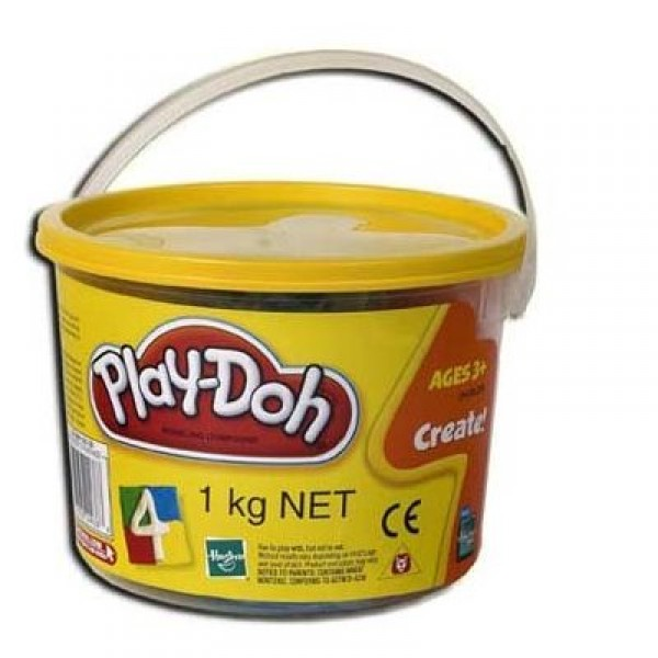 Baril 1 kg de pâte à modeler Play-doh - Couleurs vives - Hasbro-22893-22604