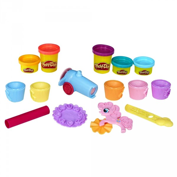 Pâte à modeler Play-Doh : Pinkie Pie Cupcake Party - Hasbro-B9324