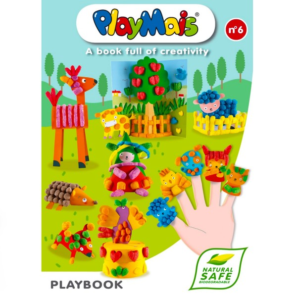 Playmais : Livre Play Book n°6 - Playmais-150522