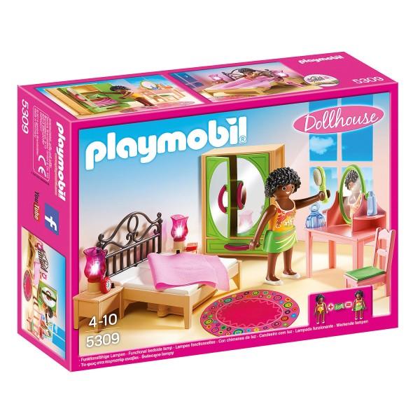 Playmobil 5309 : Dollhouse : Chambre d\'adulte avec coiffeuse - Jeux ...
