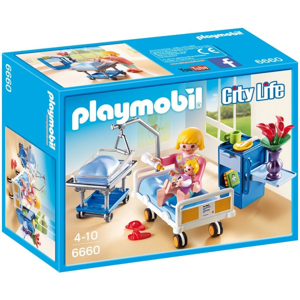 Playmobil 6660 : City Life : Chambre De Maternité   Playmobil 6660