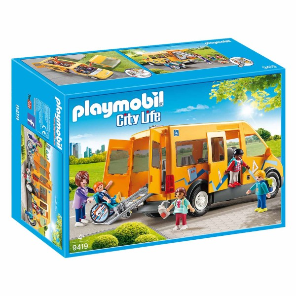 Playmobil 9419 City Life : Bus scolaire - Playmobil-9419