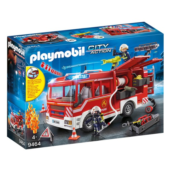 Playmobil 9464 City Action : Fourgon d'intervention des pompiers - Playmobil-9464