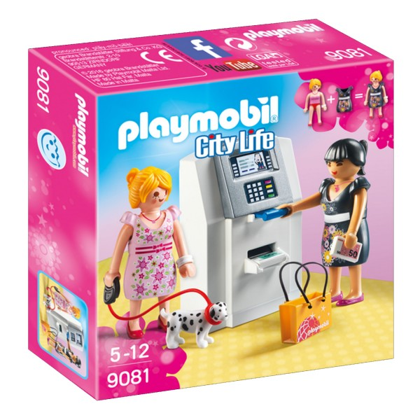 Playmobil 9081 City Life : Distributeur automatique - Playmobil-9081