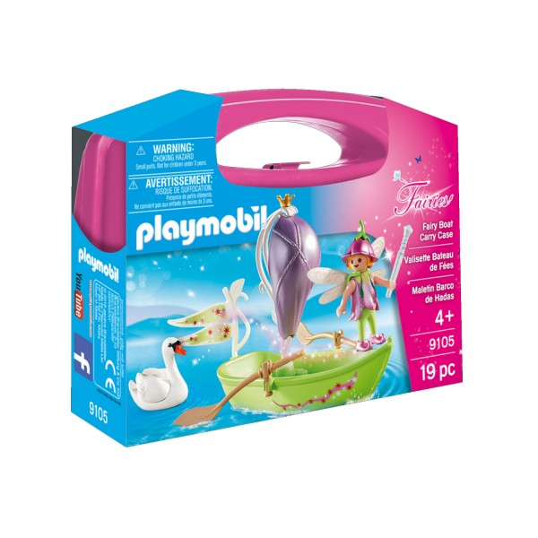 Playmobil 9105 Fairies : Valisette Bateau de Fées - Playmobil-9105