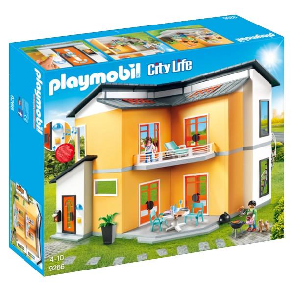 Playmobil 9266 City Life : Maison moderne - Jeux et jouets Playmobil ...