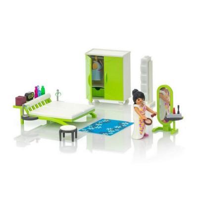 Playmobil 9271 City Life : Chambre avec espace maquillage ...