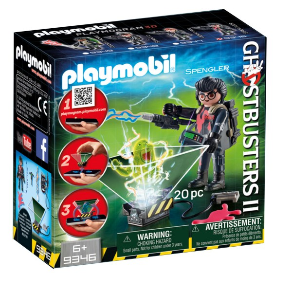 Playmobil 9346 Ghostbuster : Egon Spengler - Playmobil-9346