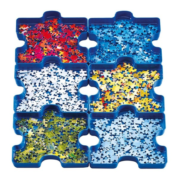 6 boîtes de tri : Sort Your Puzzle - Ravensburger-17934