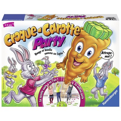 croque carotte party jeux et jouets ravensburger avenue des jeux. Black Bedroom Furniture Sets. Home Design Ideas
