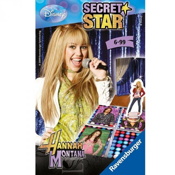 Hannah Montana - Secret Star - Ravensburger-23291