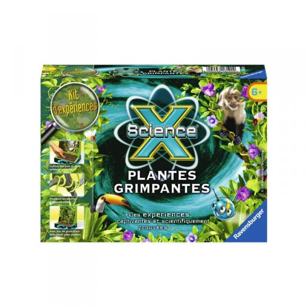 Jeu scientifique : Mini Science X : Plantes grimpantes - Ravensburger-18190