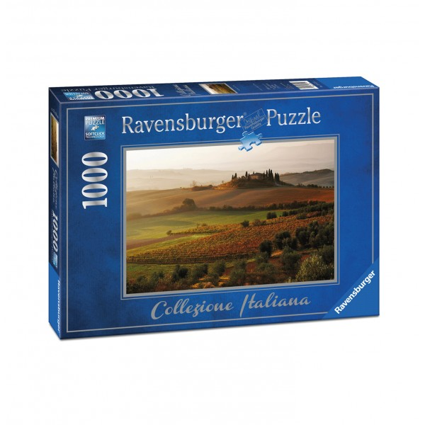 Puzzle 1000 pièces : Collection Italie - San Quirico d'Orcia - Ravensburger-19672