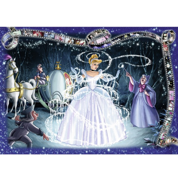 Puzzle 1000 pièces Collector's Edition Disney : Cendrillon - Ravensburger-19678
