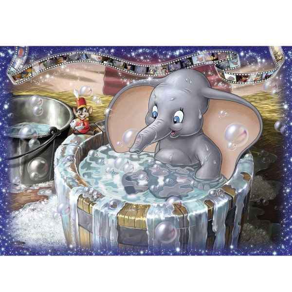 Puzzle 1000 pièces Collector's Edition Disney : Dumbo - Ravensburger-19676