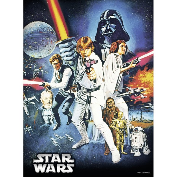 Puzzle 500 pièces : Star Wars - Ravensburger-14662-OLD
