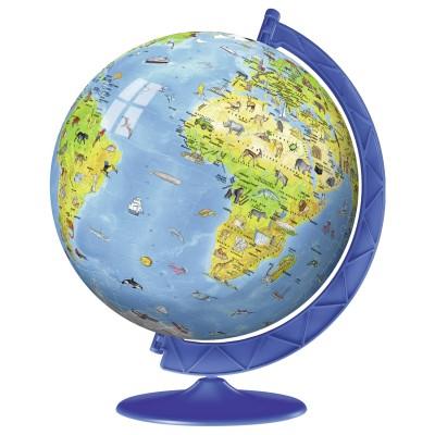 4d9acef09d5 Puzzle Ball 3D 180 pièces   Globe terrestre - Puzzle Ravensburger ...