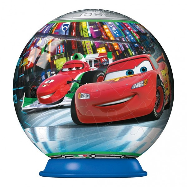 Puzzle ball 54 pièces : Cars 2 : Tokyo - Ravensburger-40459