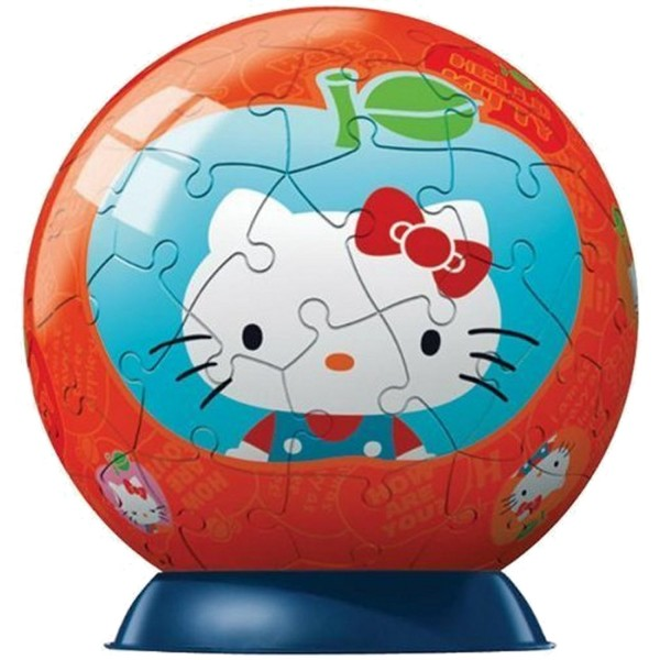 Puzzle ball 60 pièces - Hello Kitty :  Pomme - Ravensburger-09509-6