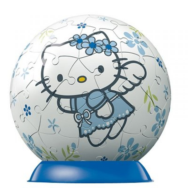 Puzzle ball 60 pièces - Hello Kitty : Ange - Ravensburger-09509-4