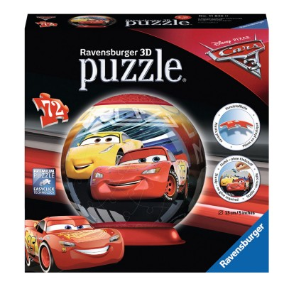 puzzle ball 72 pi ces cars 3 jeux et jouets ravensburger avenue des jeux. Black Bedroom Furniture Sets. Home Design Ideas