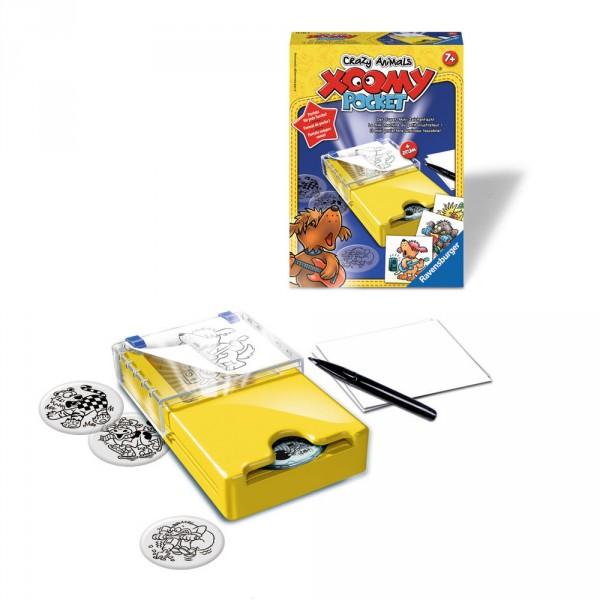 Xoomy Pocket Crazy Animals Jeux Et Jouets Ravensburger Avenue