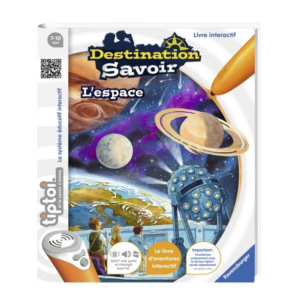 Livre Interactif Tiptoi Destination Savoir L Espace