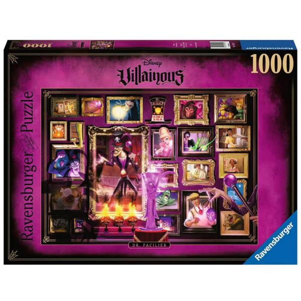Puzzle 1000 pièces : Docteur Facilier (Collection Disney Villainous) - Ravensburger-16523