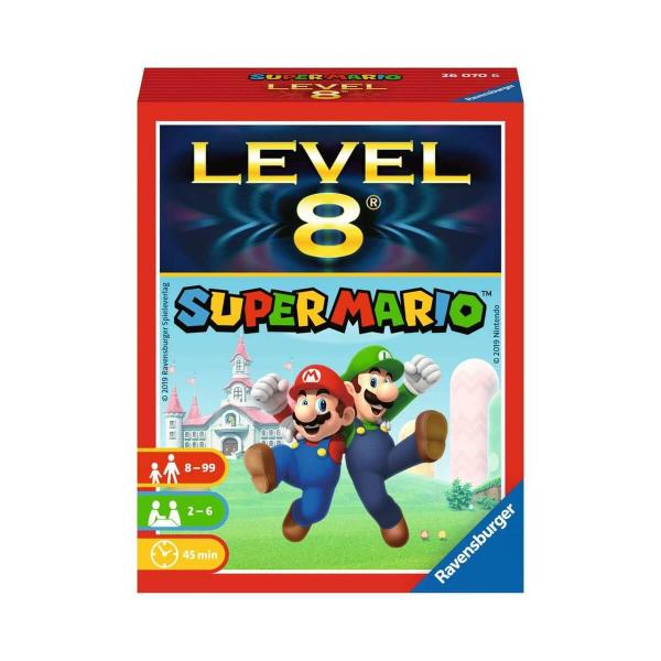 Jeu de cartes : Super Mario Level 8 - Ravensburger-260706