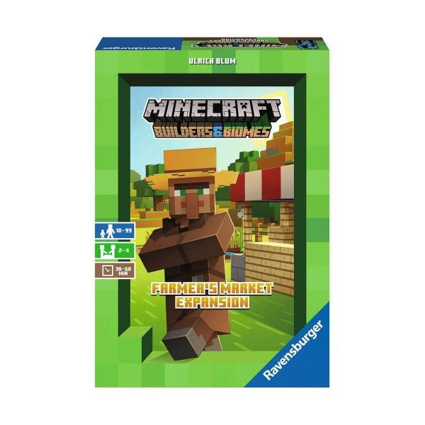 Minecraft  : extension Farmers market - Ravensburger-268696