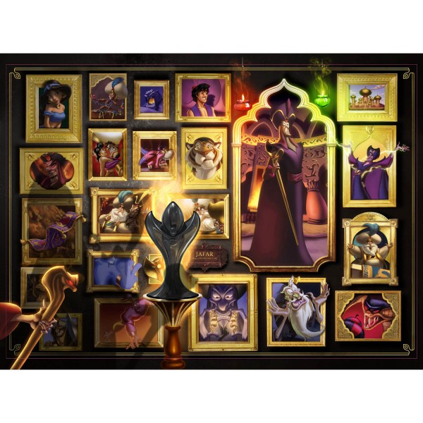 Puzzle 1000 pièces : Jafar (Collection Disney Villainous) - Ravensburger-15023