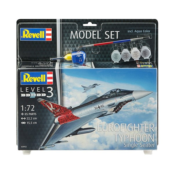 Maquette avion :  Eurofighter Typhoon - Revell-63952