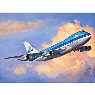 Maquette avion : Boeing 747-200 - Revell-03999