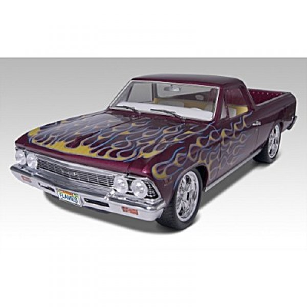 Maquette voiture : Chevy El CaminoTM 2'n1 1966 - Revell-85-12045