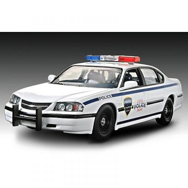 Maquette Chevy Impala Police 2005 - Revell-85-11928